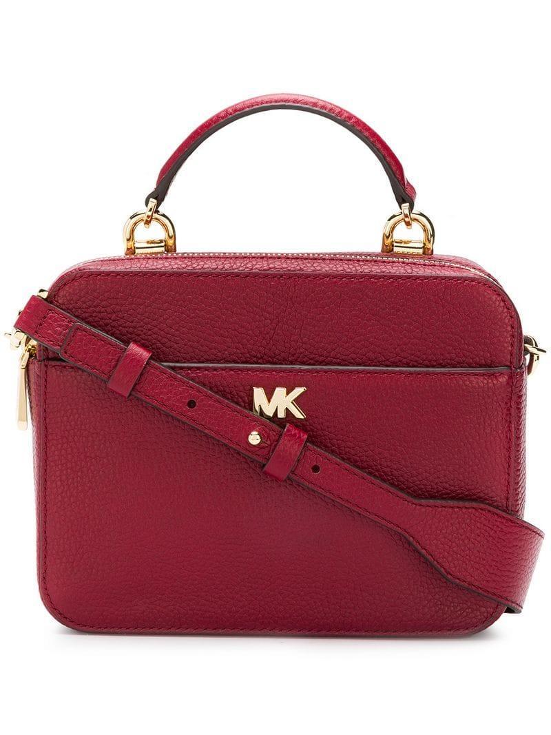 Shop für echte am modischsten neues Hoch Michael Michael Kors 'Guitar Strap' Handtasche - Rot in Red