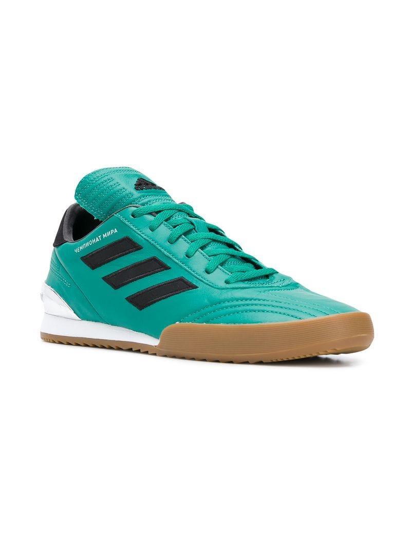 Gosha Rubchinskiy Copa Super Leather Sneakers - Green  bfec5afd625
