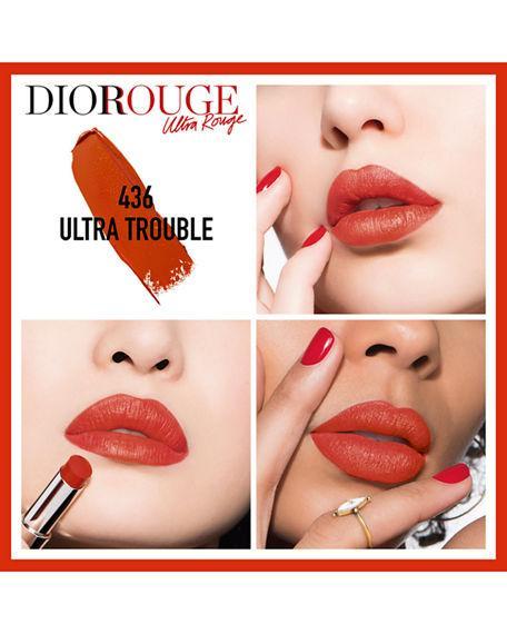 Dior Ultra Rouge Pigmented Hydra Lipstick - 436 Ultra Trouble