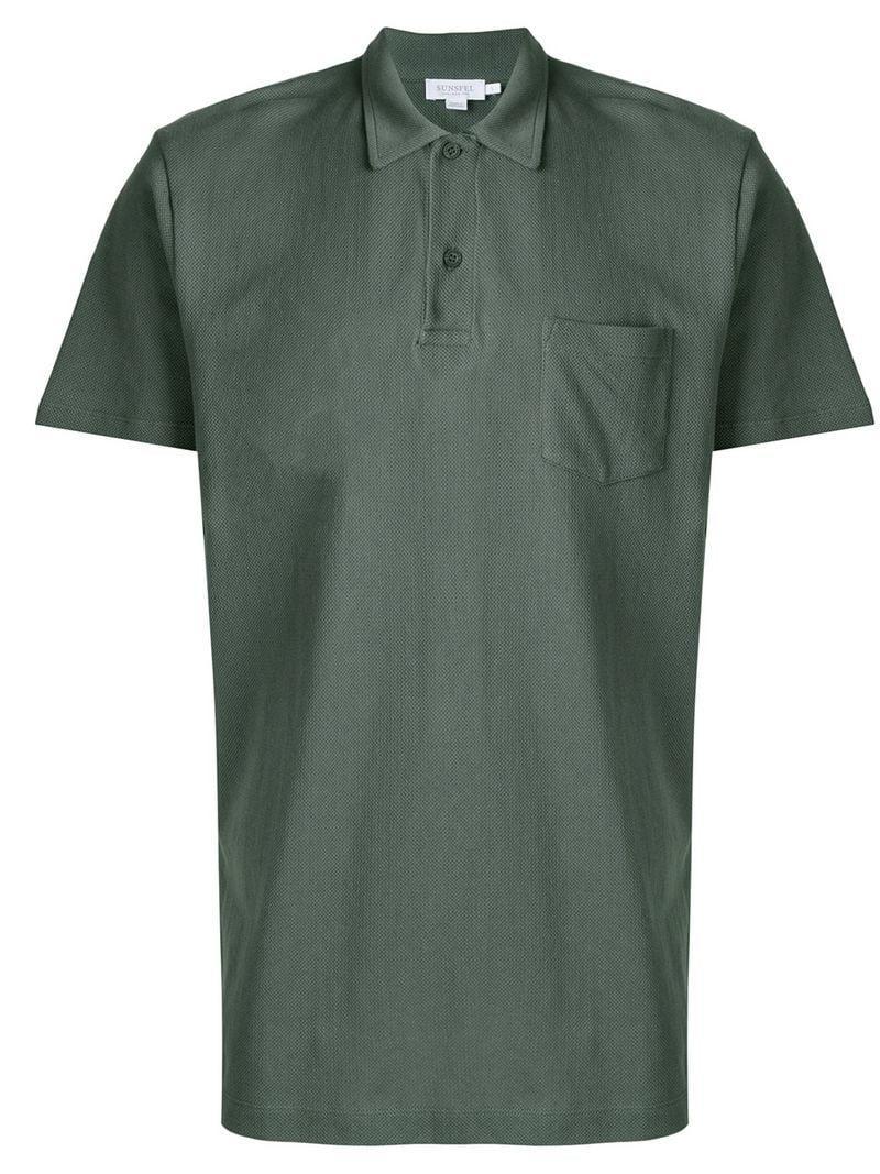 9149afd6 Sunspel Riviera Polo Shirt - Green | ModeSens