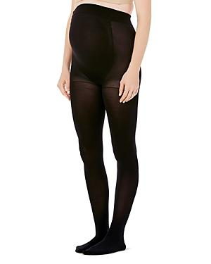e631006da9b90 Ingrid & Isabel Maternity High-Waist Tights In Ebony | ModeSens