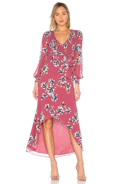 49ff4d5097bc Privacy Please Natasha Midi Dress In Red Violet