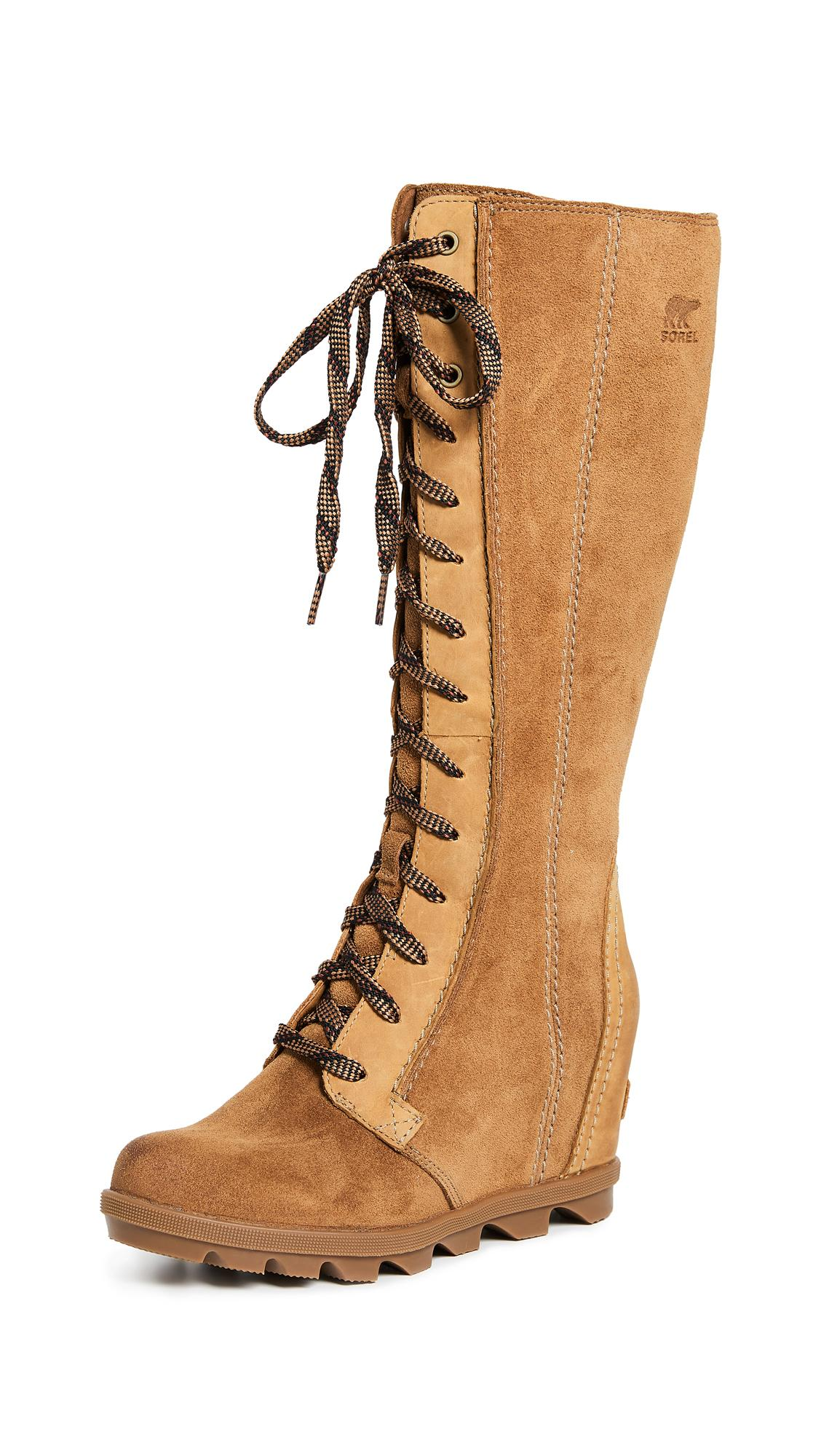 819d75b4662 Sorel Joan Of Arctic Wedge Ii Tall Boots In Camel Brown
