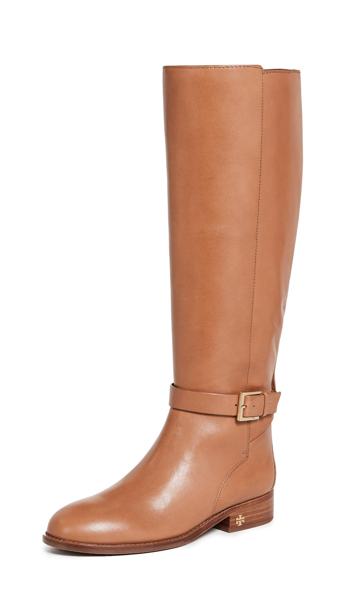 19c55135d Tory Burch Brooke Tall Boots In Tan
