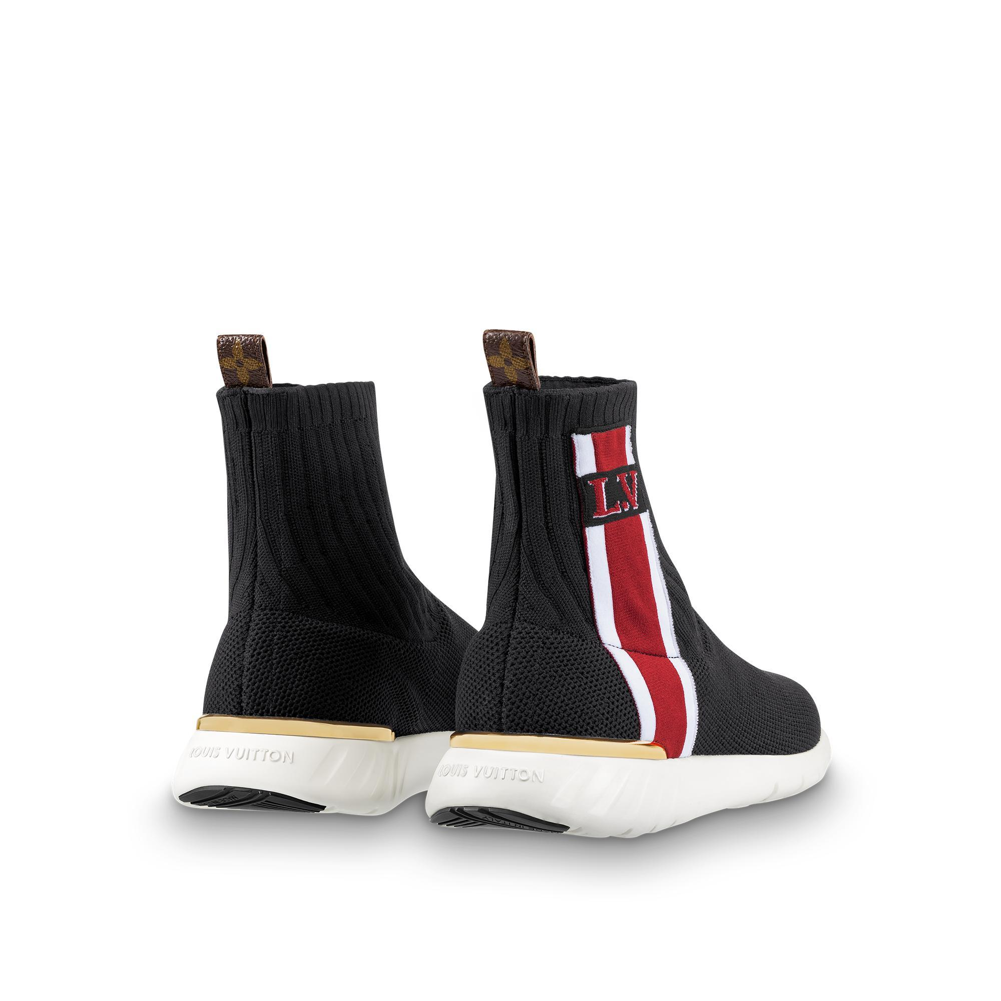ddda8c4ab11b Louis Vuitton Aftergame Sneaker Boot In Noir