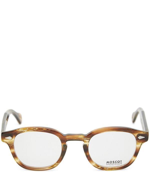 f199fece5cf1 Moscot Lemtosh Tortoiseshell Optical Frames In Brown