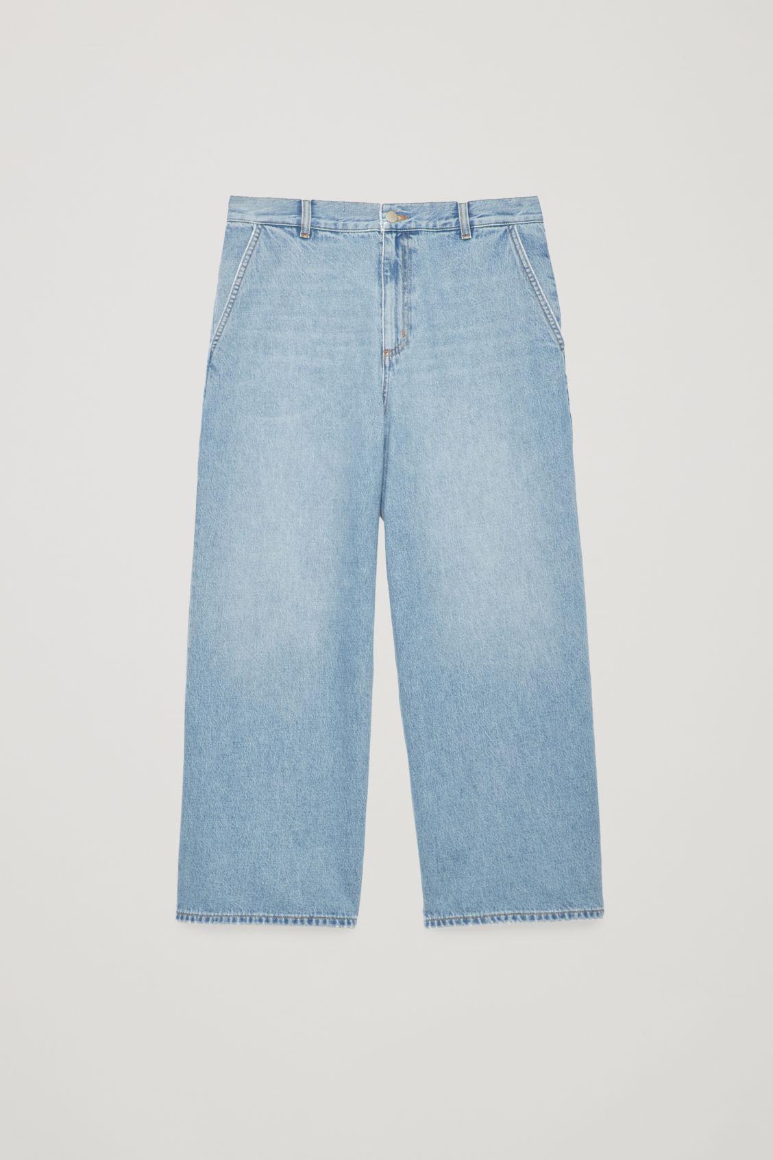 7d487f61937b Cos Barrel Leg Jeans In Blue | ModeSens