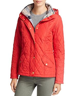 barbour millfire diamond quilted jacket