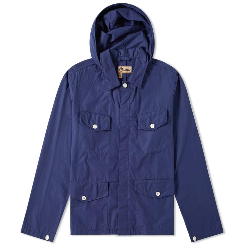 1ec5711c9083 Nigel Cabourn X Lybro Field Shirt Jacket In Blue