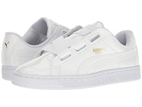 innovative design d44c9 532e3 Basket Heart Patent, Puma White/Puma White