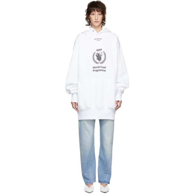 Balenciaga World Food Programme Hoodie In 3307 Ofwh B Modesens