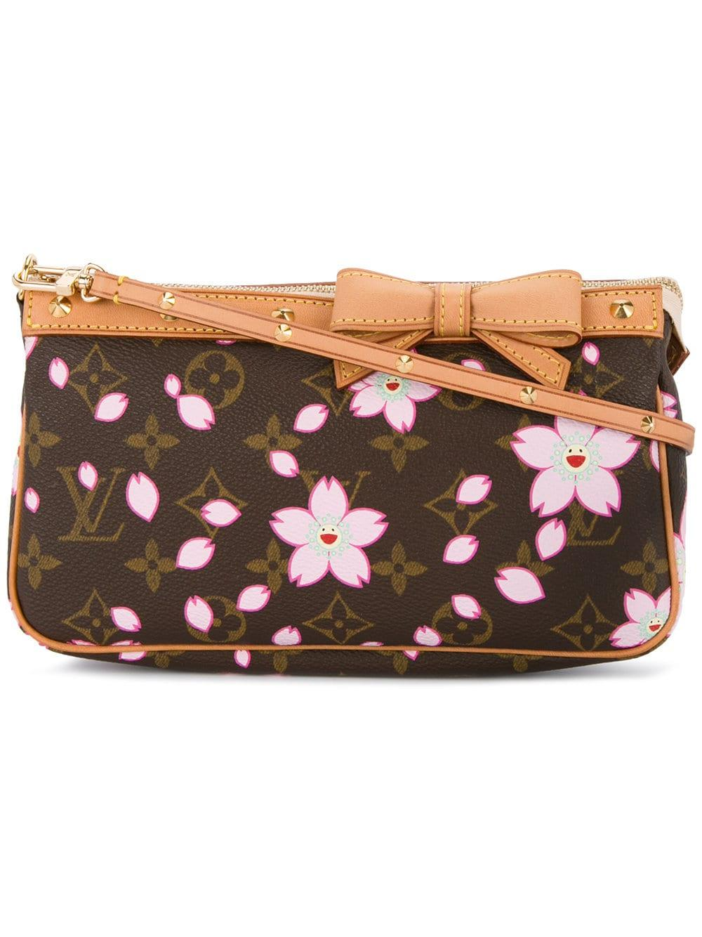dbc80cd055 Louis Vuitton Pre-Owned Cherry Blossom Mini Bag - Brown | ModeSens