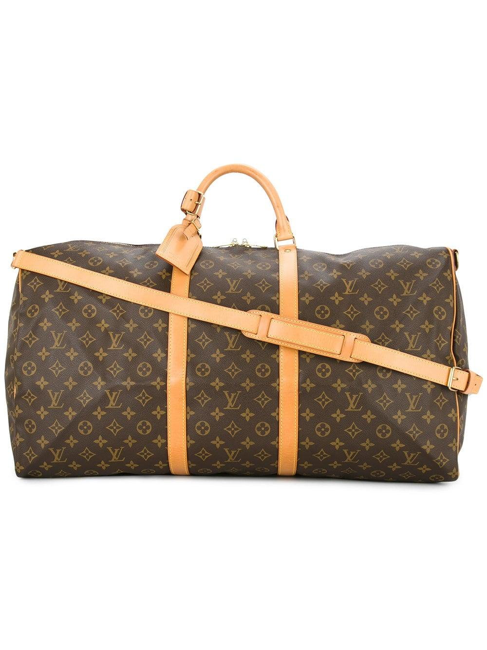 d5022df7 Louis Vuitton Pre-Owned Keepall Bandouliere 60 Bag - Brown