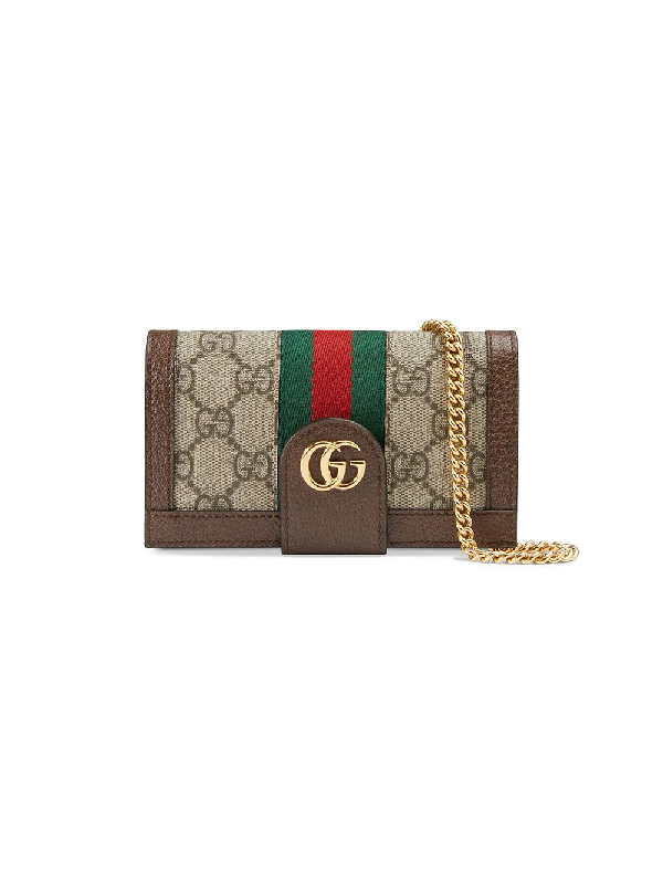 6feba0ebf4e9 Gucci Leather And Chain-Trimmed Printed Coated-Canvas Iphone 7 And 8 Case In