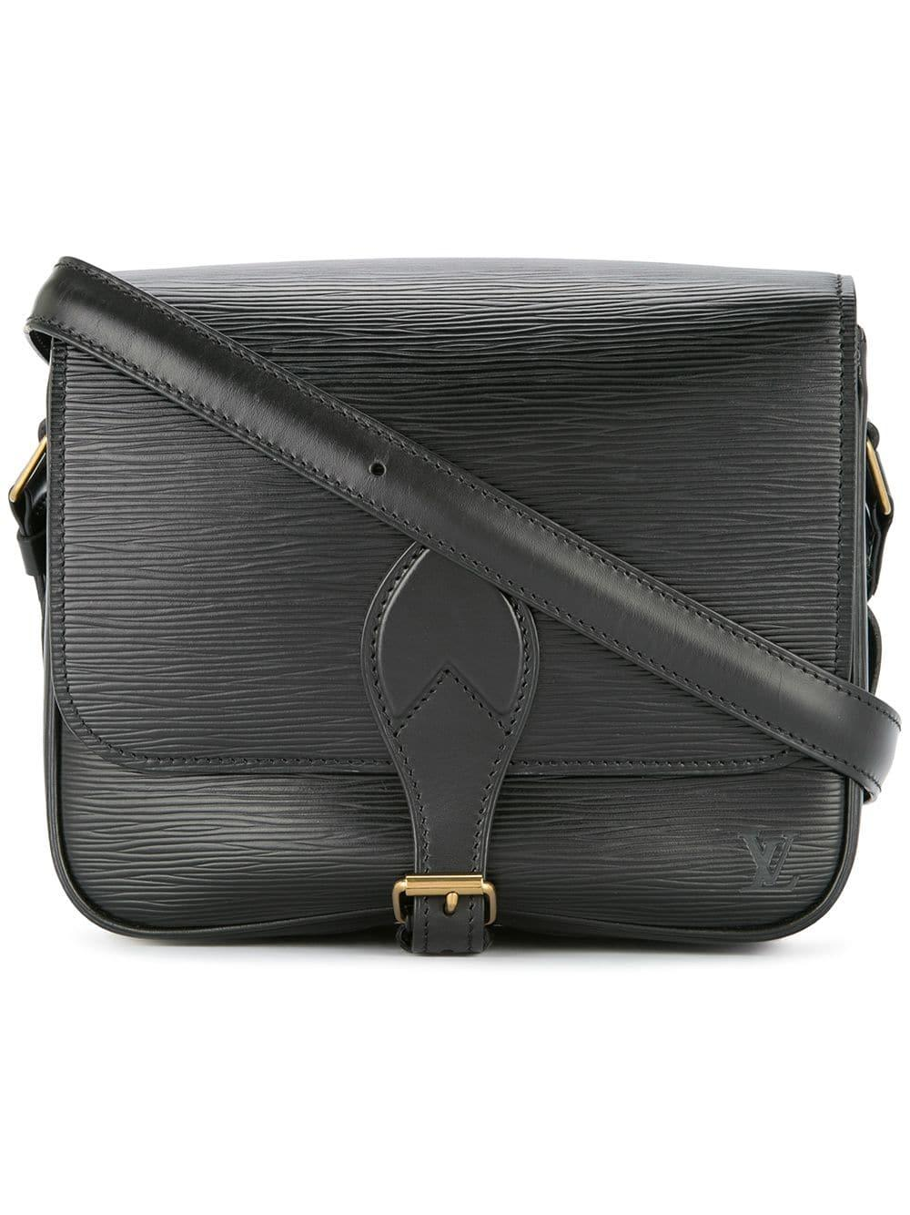 adf3f666a2 Louis Vuitton Pre-Owned Cartouchiere Cross Body Shoulder Bag - Black ...