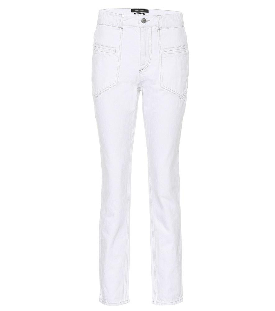 7a10aa5a2c Isabel Marant Overa Skinny Jeans In White | ModeSens