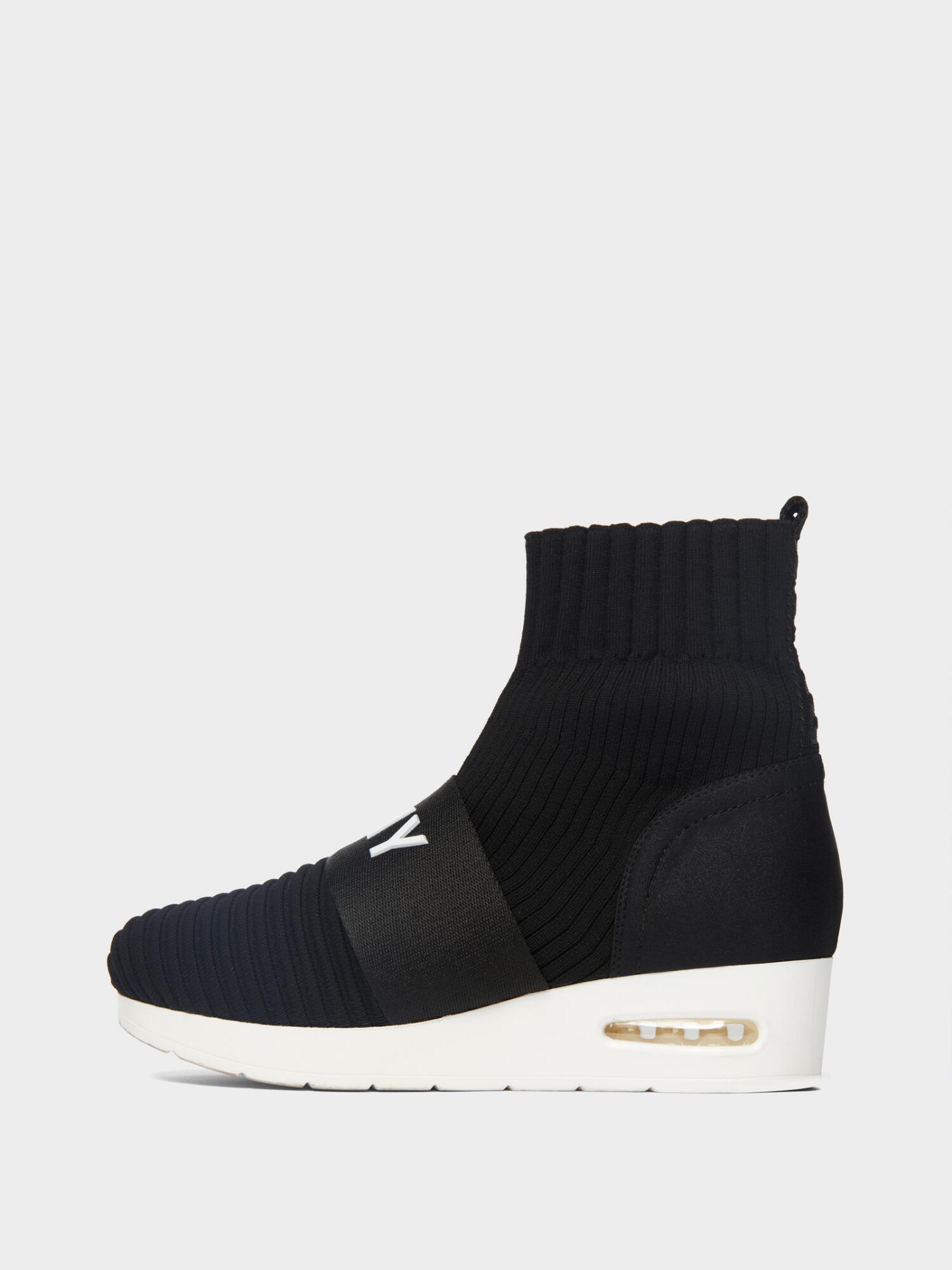 2cad92e158e Donna Karan Anna Slip-On Wedge Sneaker In Black