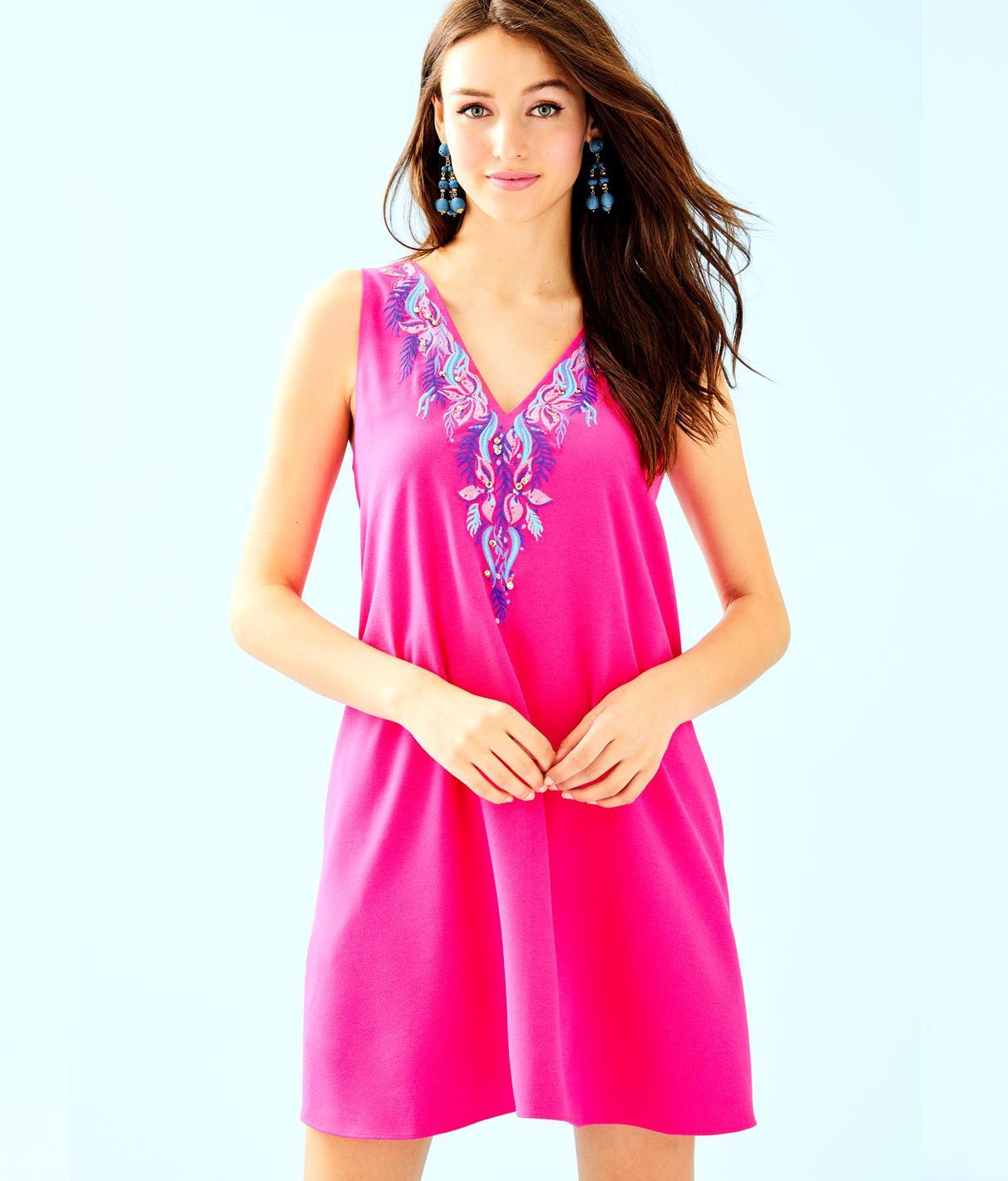 e1675c9ceab524 Lilly Pulitzer Owen Dress In Pinata Pink | ModeSens