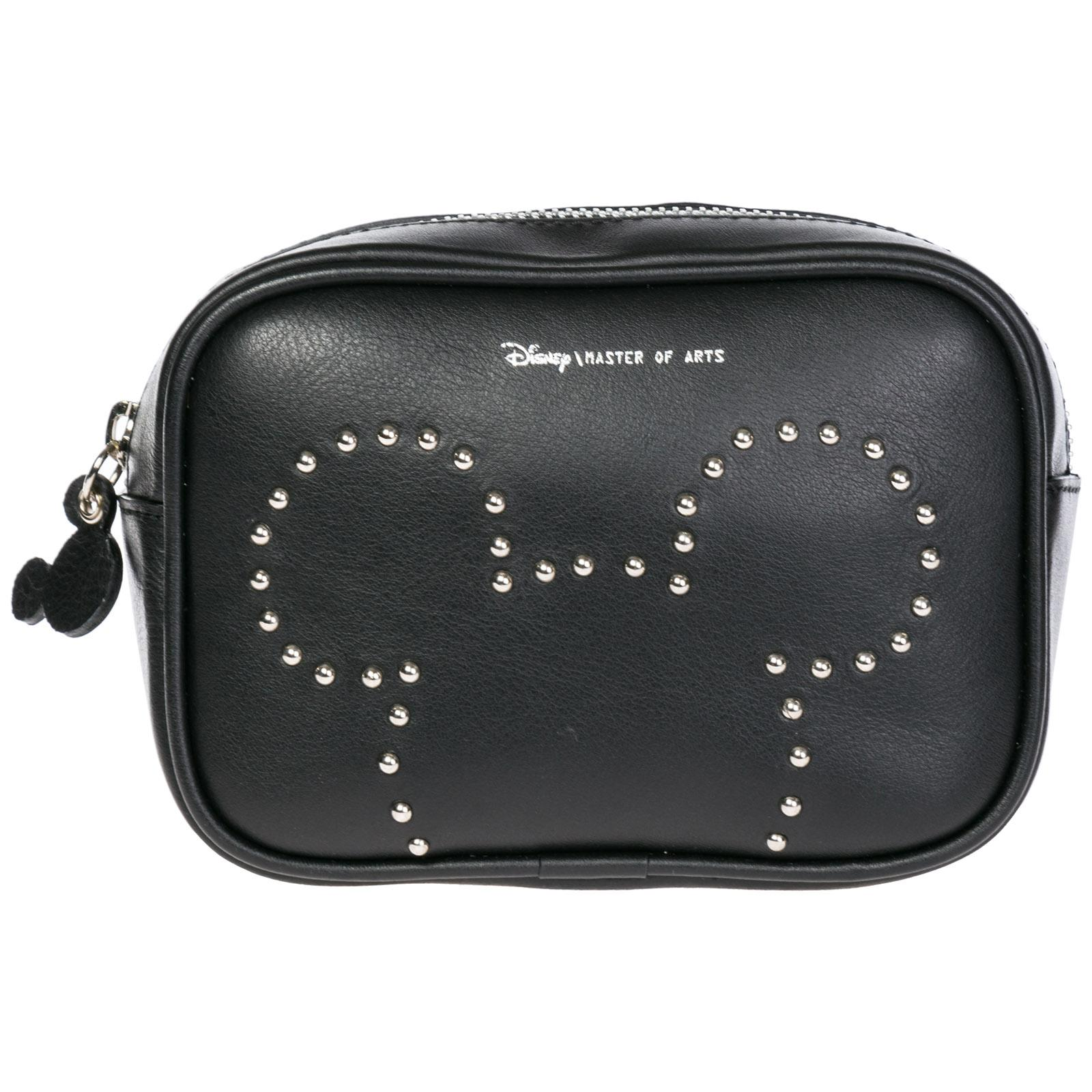 887457342b17 Moa Master Of Arts Women's Leather Belt Bum Bag Hip Pouch Disney Mickey  Mouse In Black