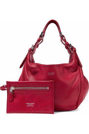 58129c543b Woman Leather Shoulder Bag Red