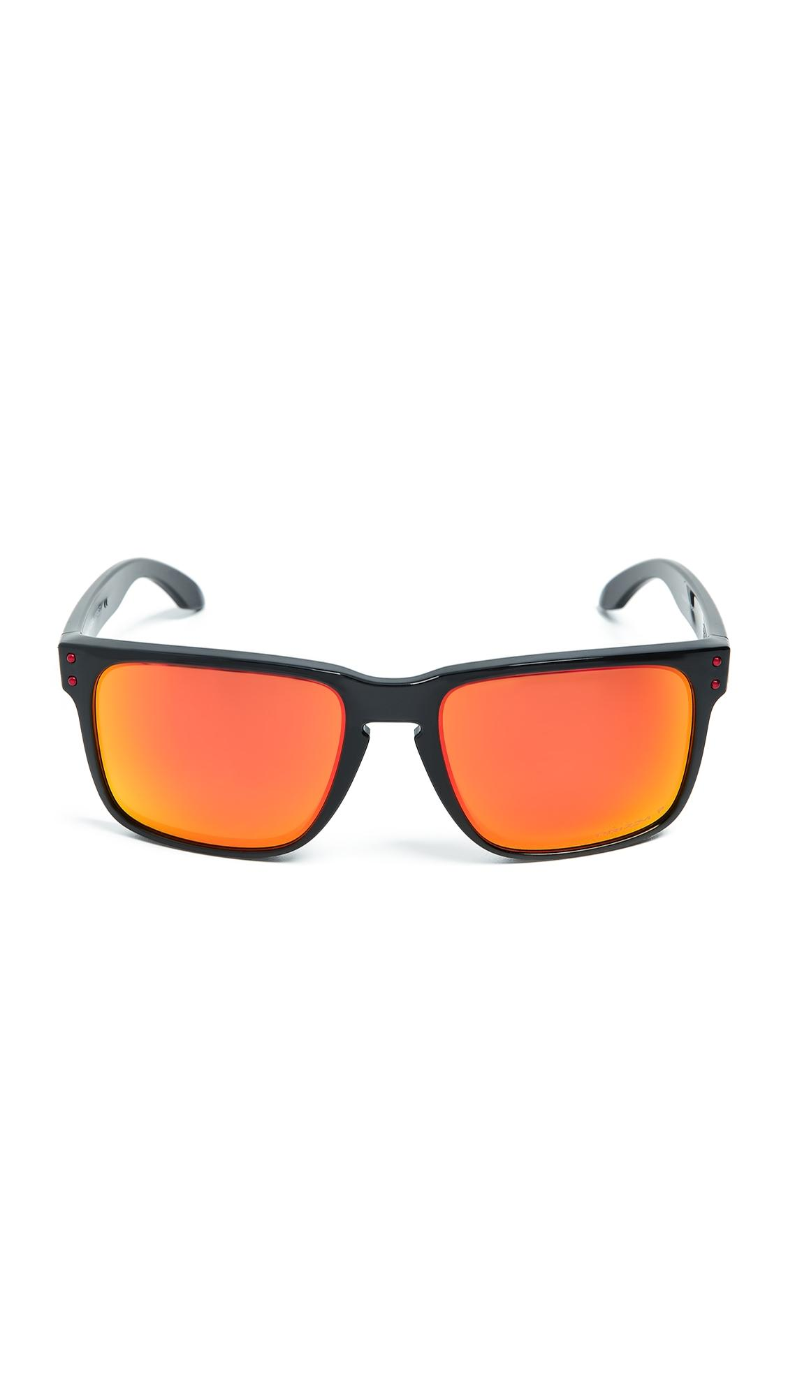 dc3524ca8e8fd Oakley Holbrook Xl Polarized Sunglasses In Black Ink Prism Ruby ...