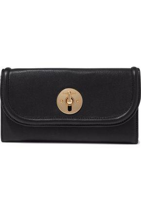 7dafa65a See By Chloé Woman Leather Continental Wallet Black