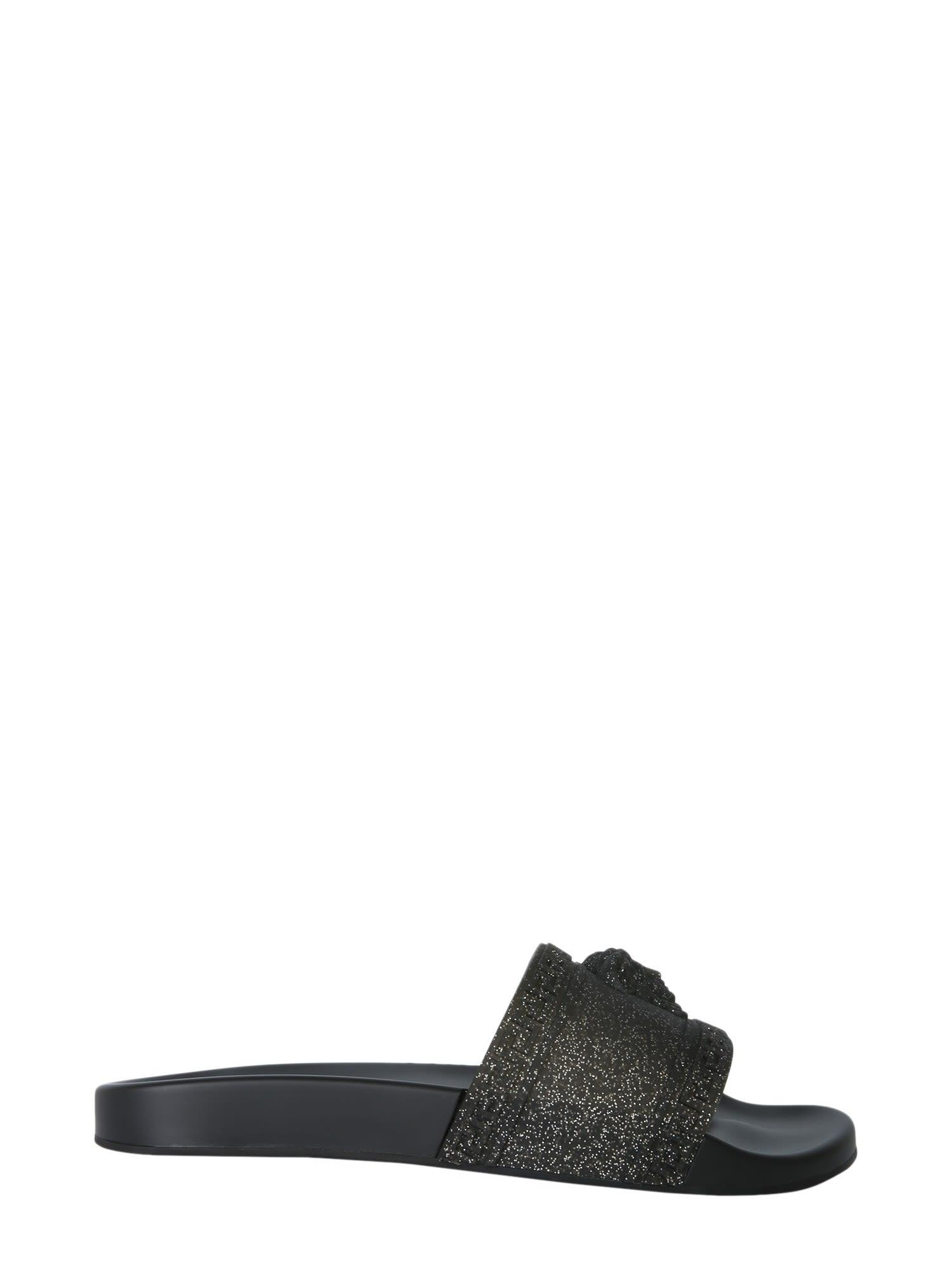 3a6490673af1b Versace Men S Glitter Shower Slide Sandals