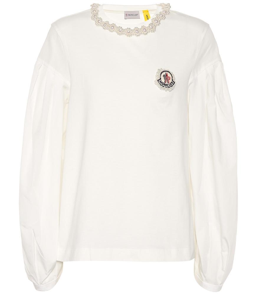 abee4ace20a8 4 Moncler Simone Rocha Cotton Shirt in White