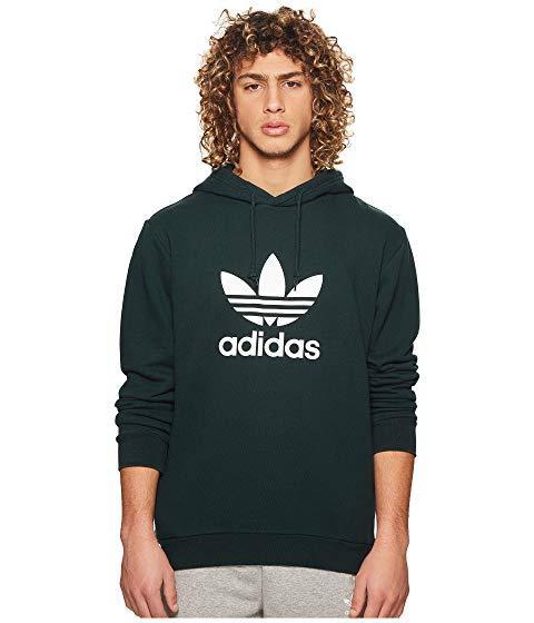 adidas trefoil warm up hoodie sweatshirt