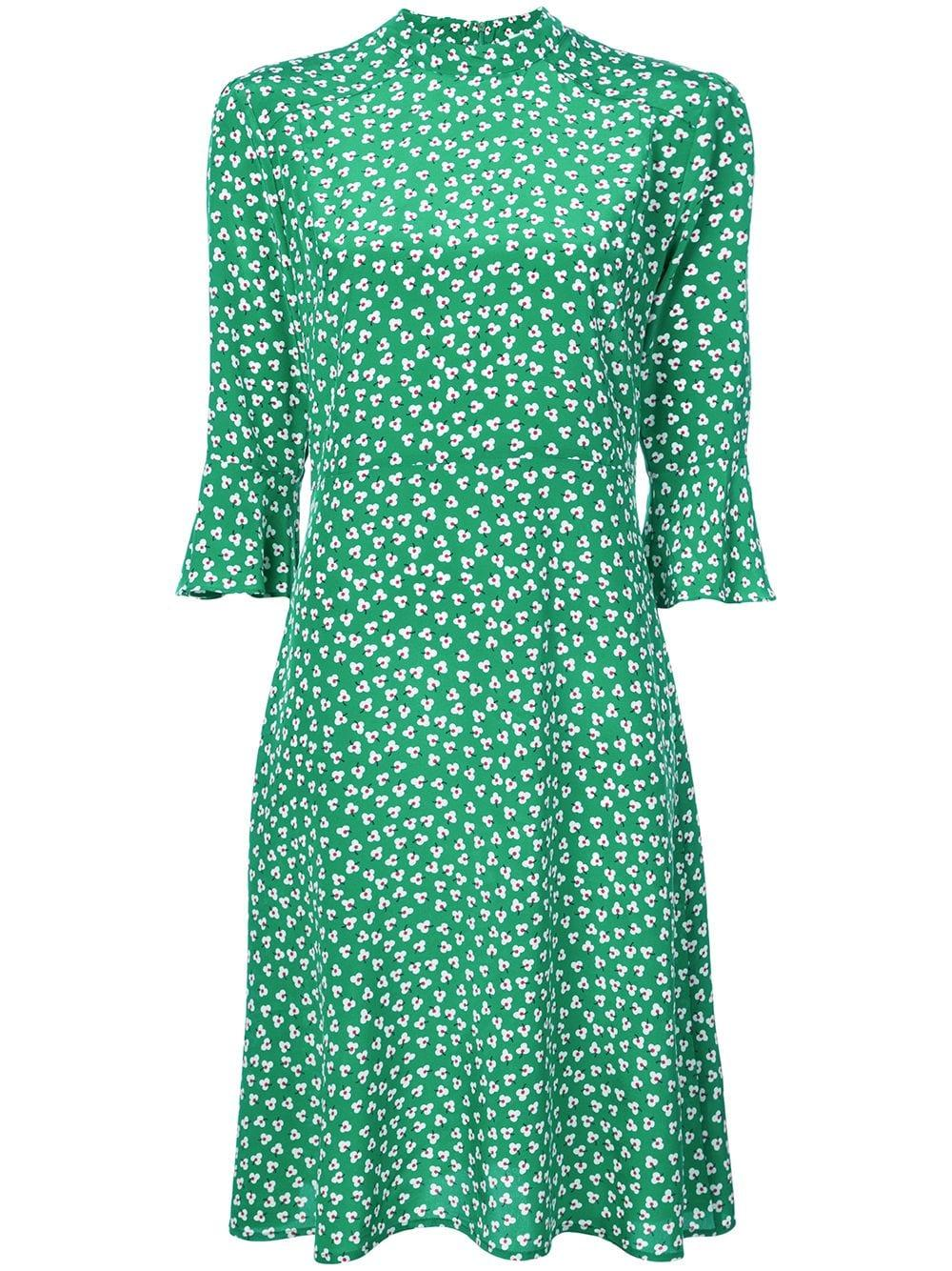 b1c4509e442976 Harley Viera-Newton Hvn Printed Day Dress - Green | ModeSens