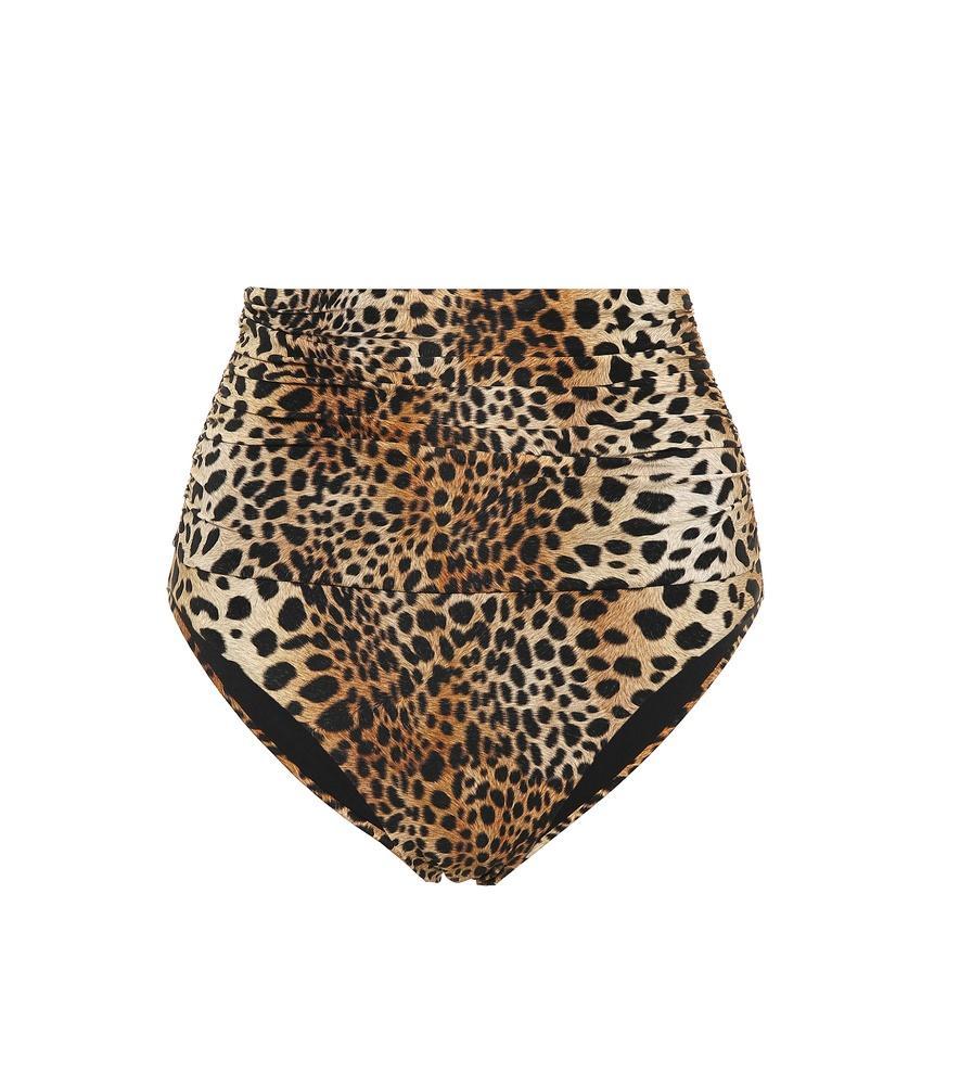 66af134c0474c Melissa Odabash Lyon High-Waist Cheetah-Print Swim Bottoms In Brown ...