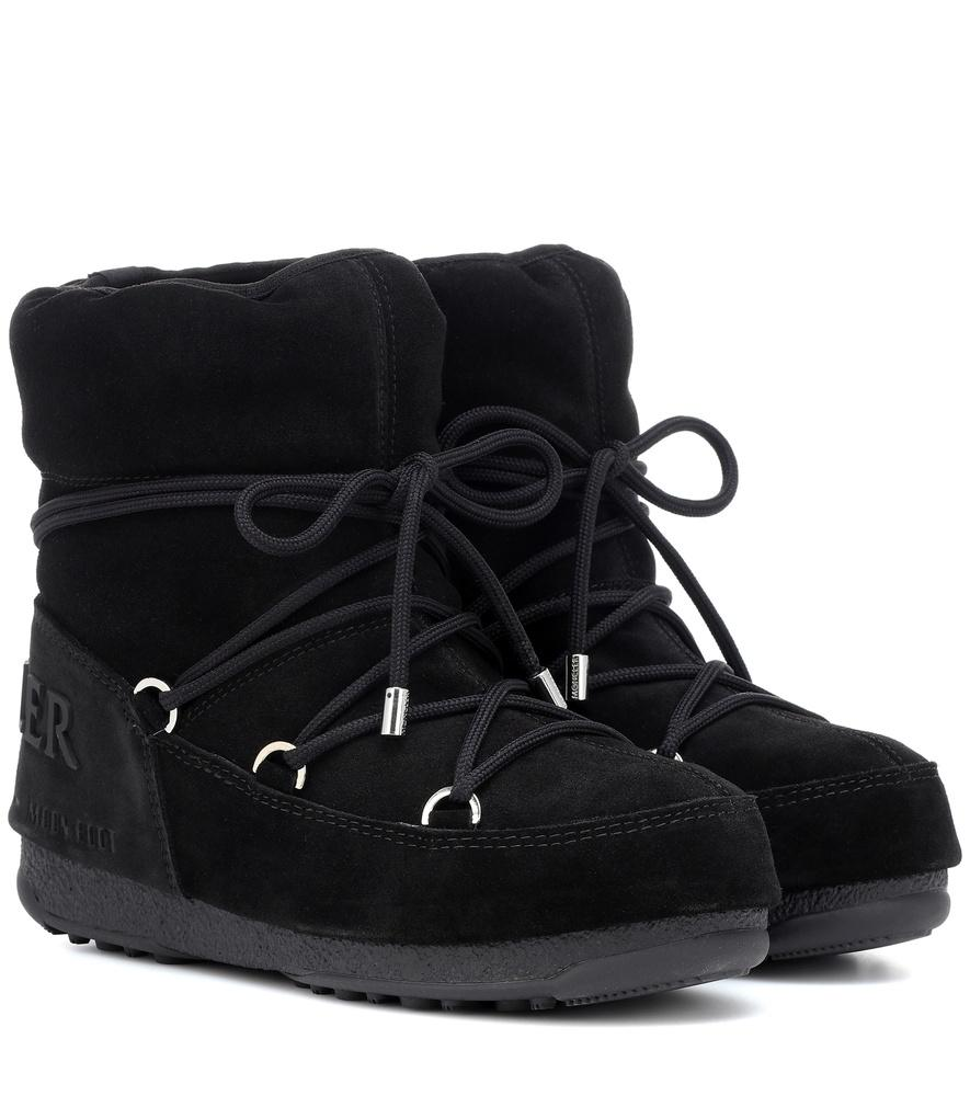 1cb0525a2 Moncler X Moon Boot® Hamal Ankle Boots In Black | ModeSens