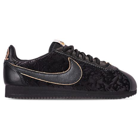Nike Women's Cortez Classic Se Casual Shoes, Black   ModeSens