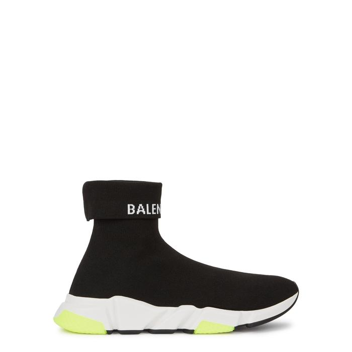 c1d99ad21a1a Balenciaga Men s Speed High-Top Stretch-Knit Sock Sneakers