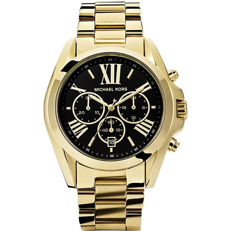 e62b77679 Michael Kors Mk5739 Bradshaw Gold-Plated Watch | ModeSens