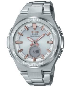 G Shock Women S Solar Analog Digital Stainless Steel Bracelet Watch