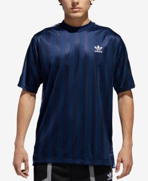 Adidas Originals Men's B-side Trefoil Mixed-print Soccer Jersey In ...