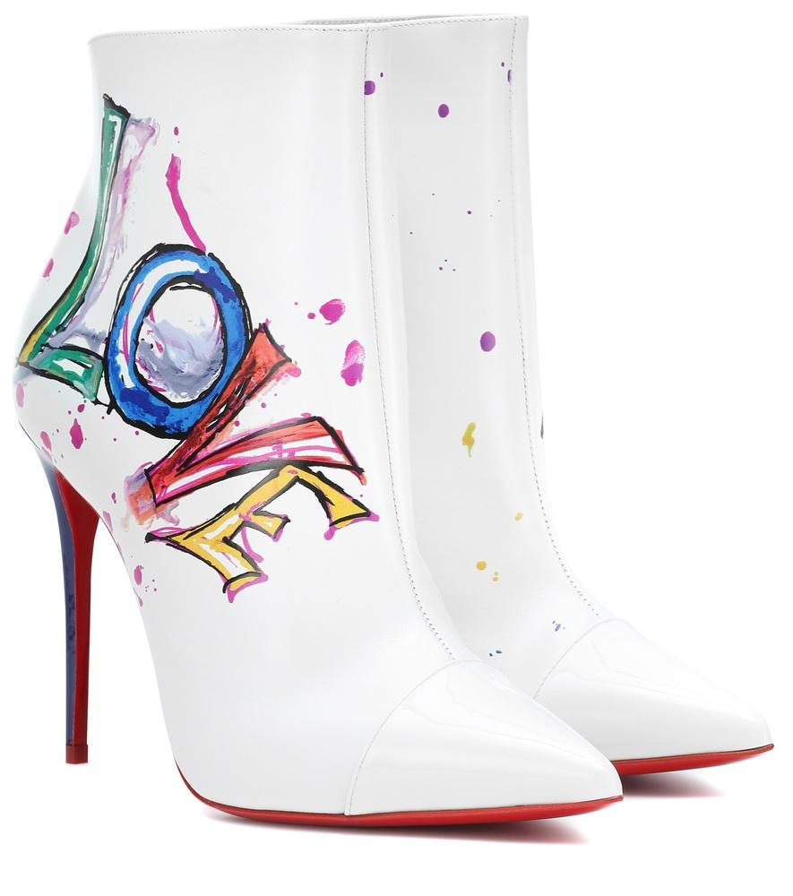 41f3b1ac861 In Love Leather Ankle Boots - Version White
