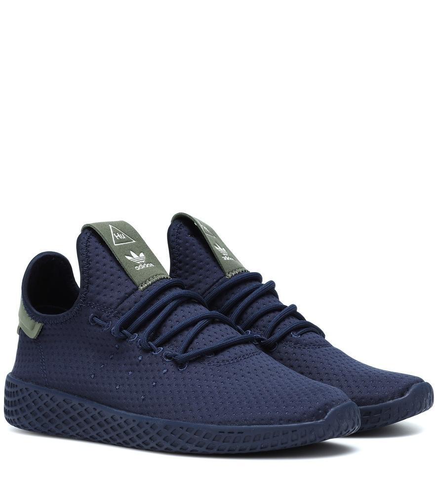 1e255db49a781 Adidas Originals X Pharrell Williams Tennis Hu Sneakers In Blue ...
