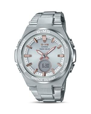 G Shock Women S Solar Analog Digital Stainless Steel Bracelet Watch