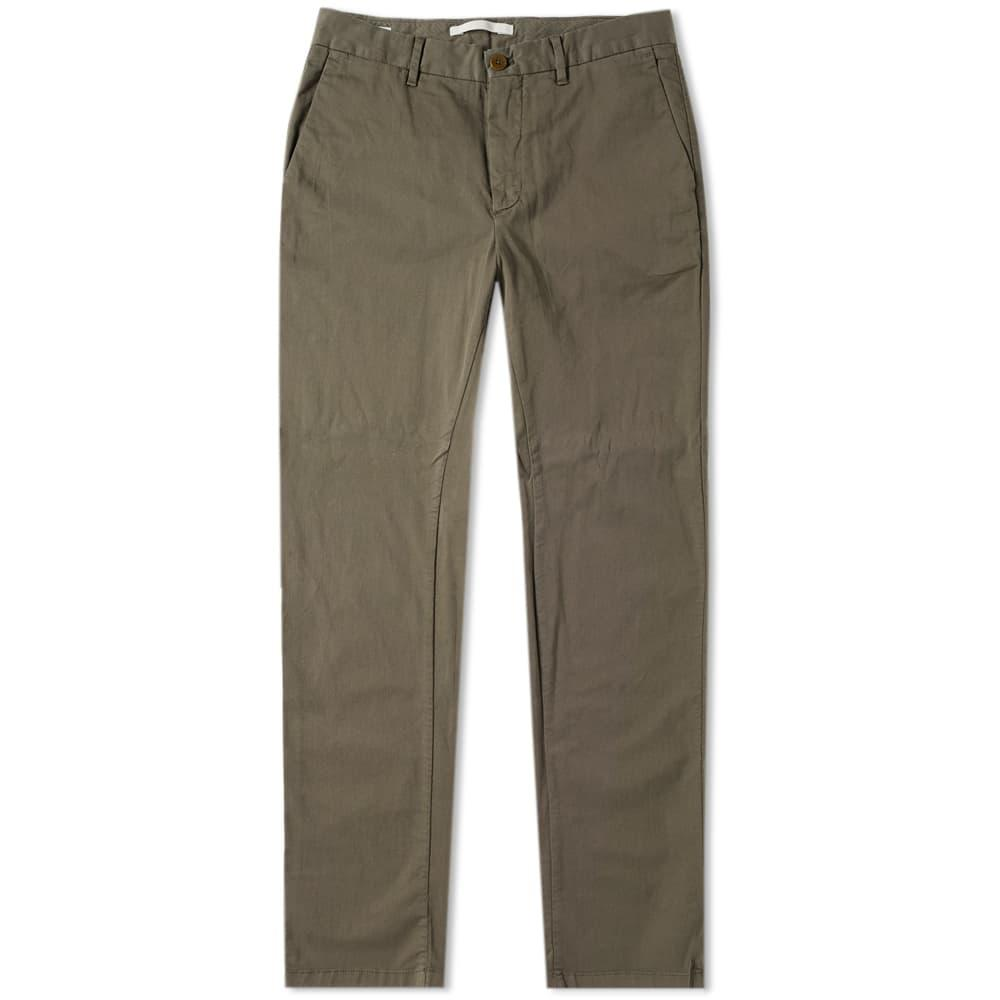 c46b83fffe Norse Projects Aros Slim Light Stretch Chino In Green   ModeSens