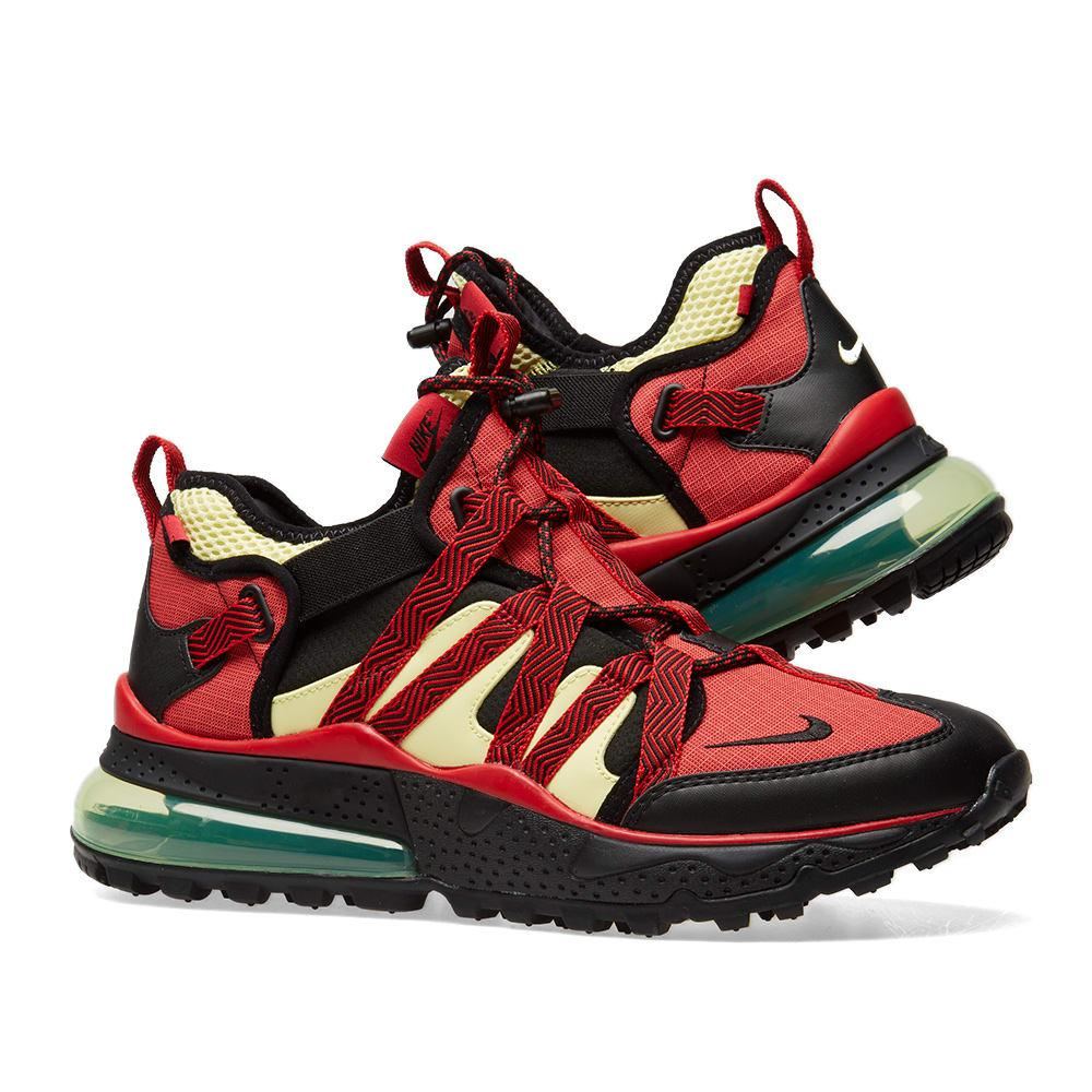 super popular cbe4a f75a4 Red & Black Air Max 270 Bowfin Sneakers