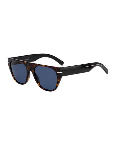 f37a5b4c2cbd Dior Men s Flat-Top Acetate Sunglasses
