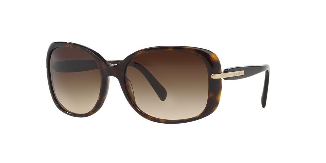 2aaec5cb81f48 Prada 57Mm Rectangular Sunglasses - Havana  Brown Gradient