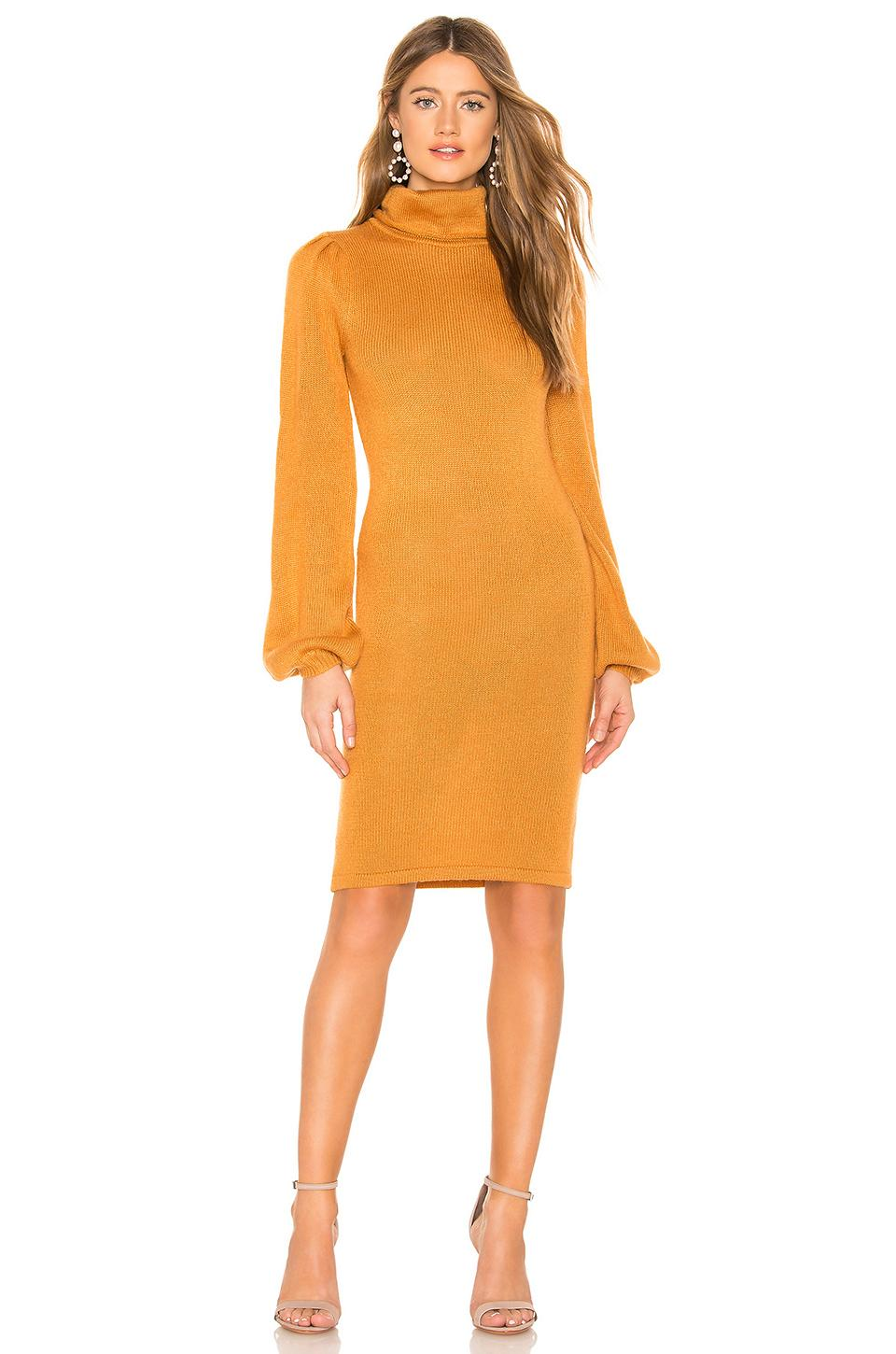c1b1471d647 Tularosa Mila Sweater Dress In Cognac. In Sandstone