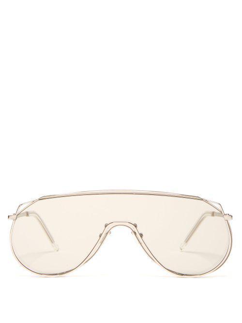 61ec3bc5c2f7 Gentle Monster Afix 02 (K) Sunglasses In Silver