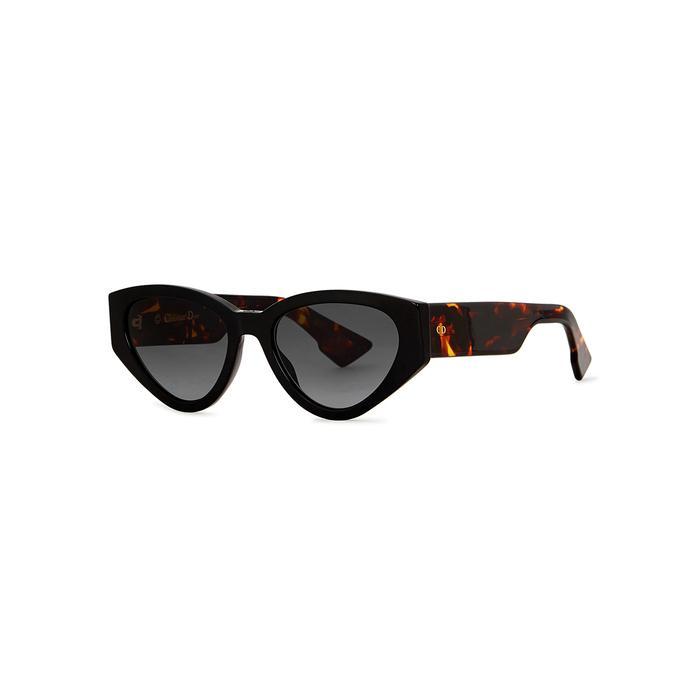 d80ddcb91eb4 Dior Spirit2 Cat-Eye Sunglasses In Black