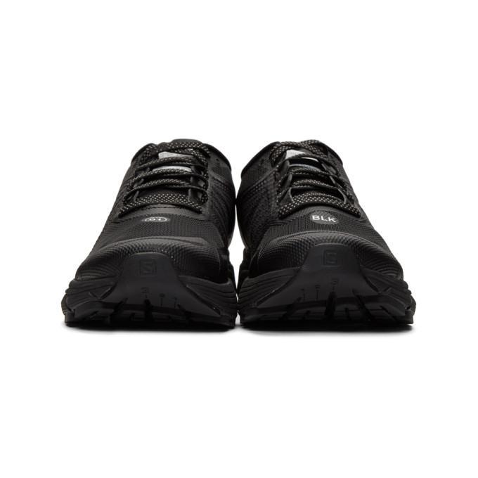 93dd7d05e13 Satisfy X Salomon Sonic Ra Max Trainers In Black