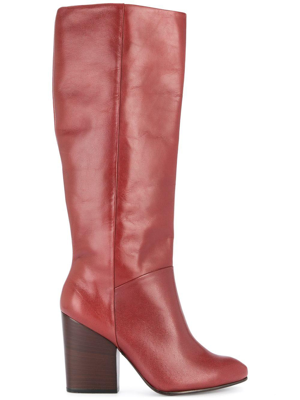 10a510de3f7 Rachel Comey Knee-Length Boots - Red