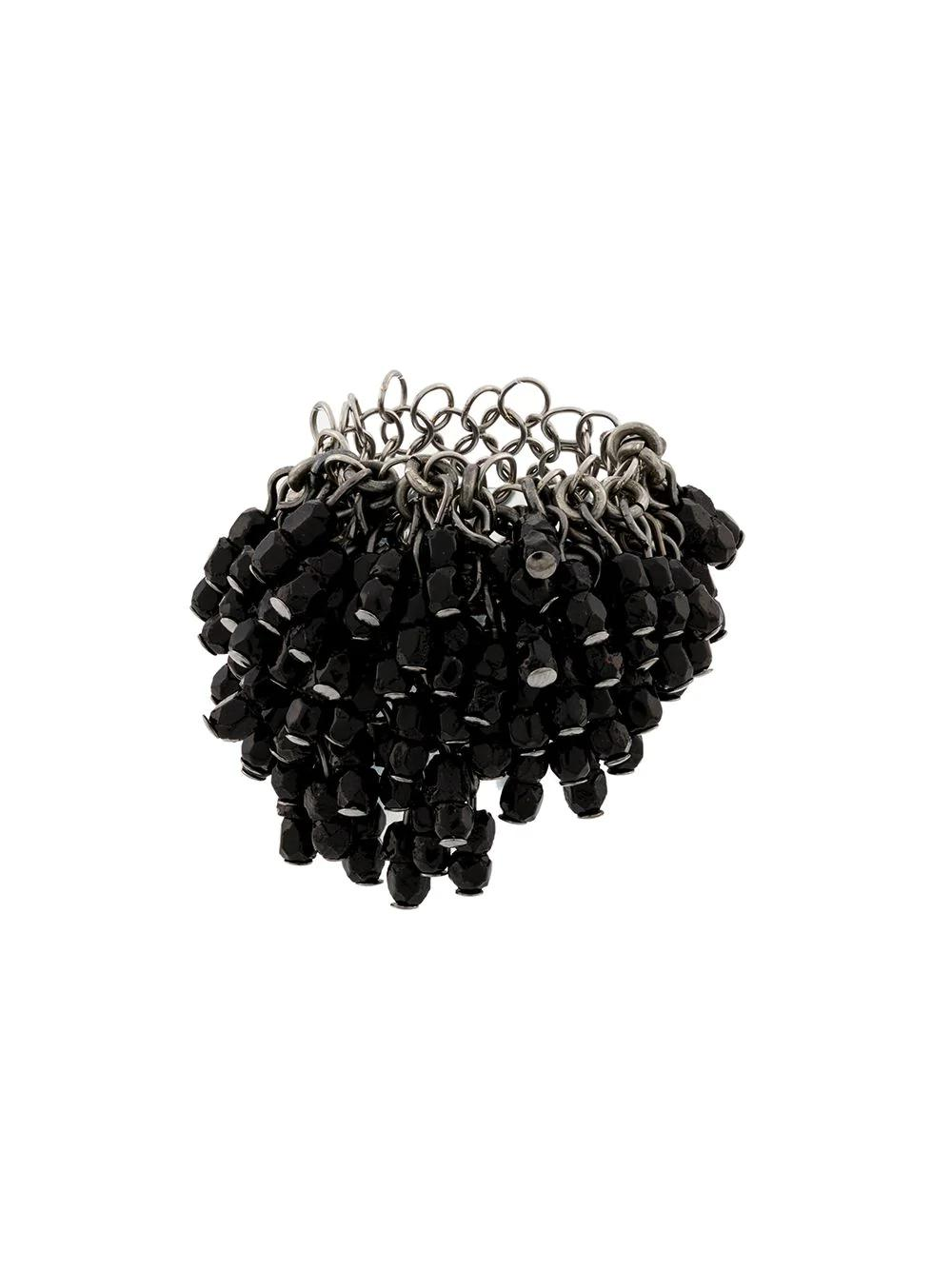 Marc Le Bihan Rhinestone Ring - Black
